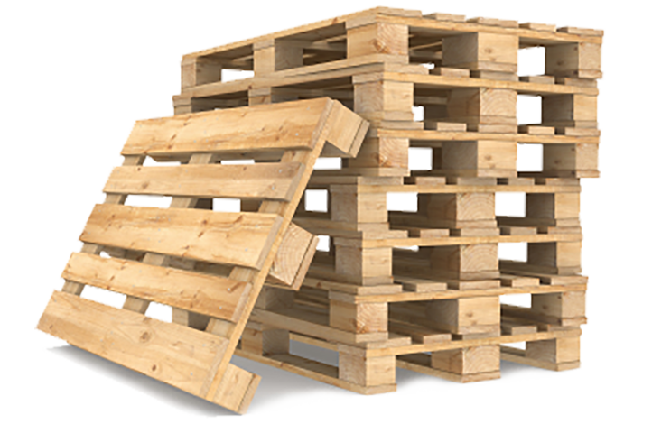 Wood Pallets Warehouse Cubed
